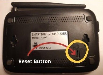 Android TV Box Reset & Recovery Mode